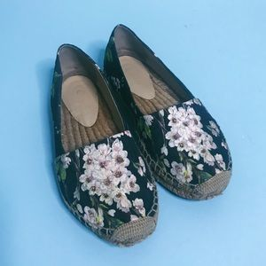 D&G Blossom Brocade Espadrilles